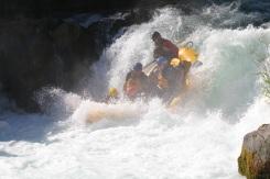 Husum Falls as we near the bottom