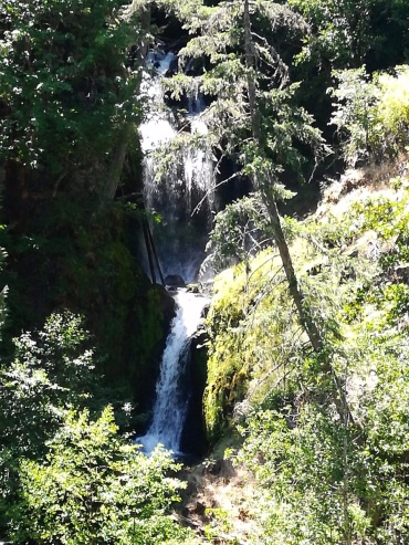 second waterfall at punchbowl
